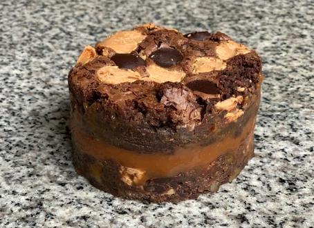 Brownies sauce Caramel